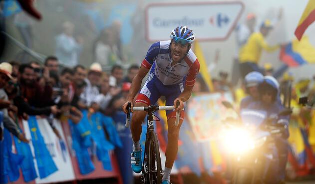 Thibaut Pinot, ciclista francés al servicio de  Groupama-FDJ