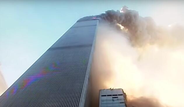 Imagen del ataque a las Torres Gemelas, el 11 de septiembre de 2001