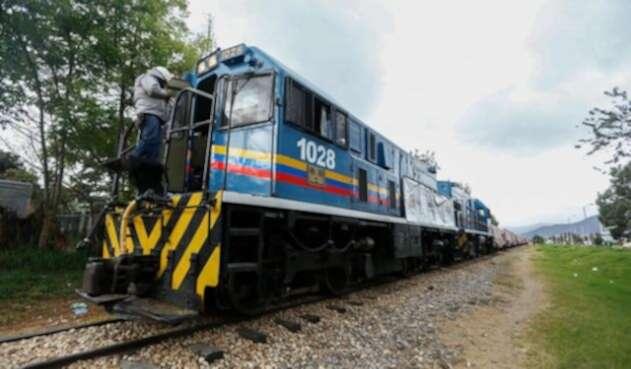 Tren. Foto Colprensa