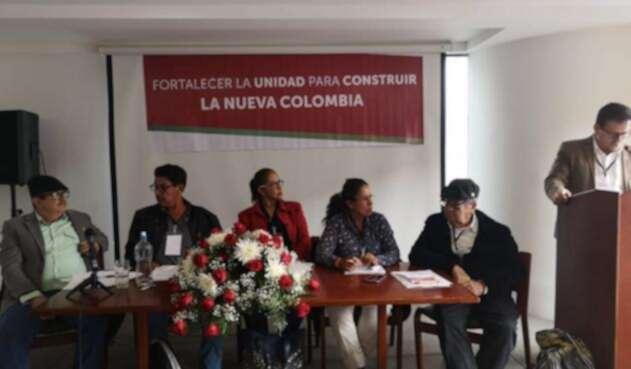El segundo encuentro de la dirección nacional de la organización Farc después de su fundación como partido político