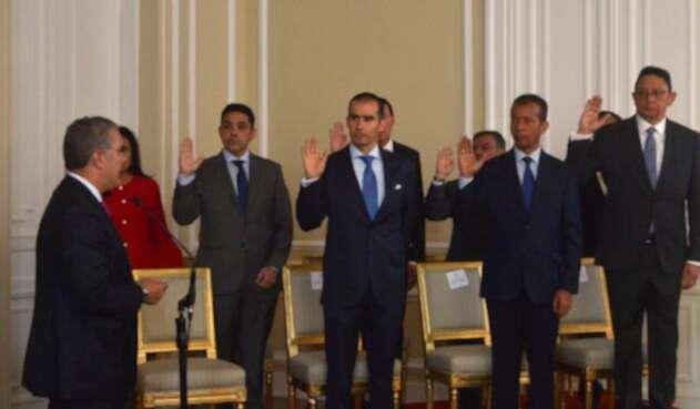 Posesión magistrados del CNE