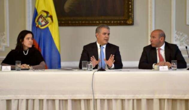 Presidente Duque en primera reunión sobre las TICs