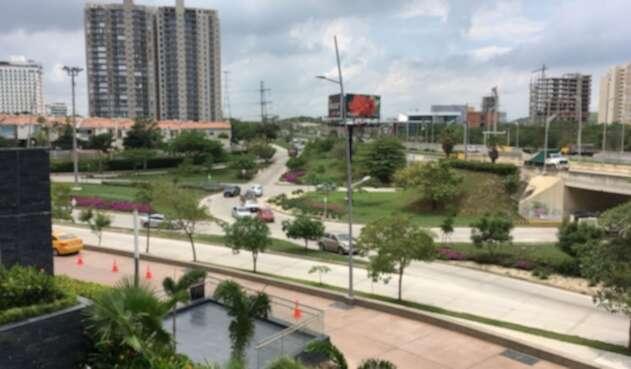 Panorámica de la renovada ciudad de Barranquilla.