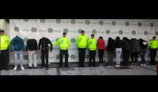 Capturadas nueve personas de la banda delicuencial que tenía atemorizado al barrio Molinos