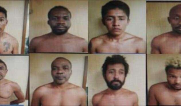 Capturados del Cartel de Jalisco