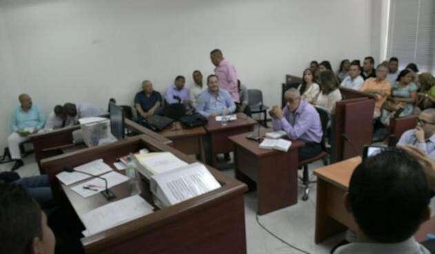 La audiencia se llevó a cabo en el Centro de Servicios Judiciales de Barranquilla.