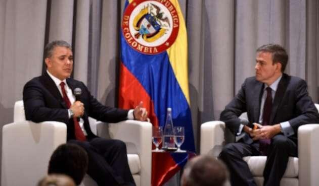 Presidente Iván Duque, en Nueva York