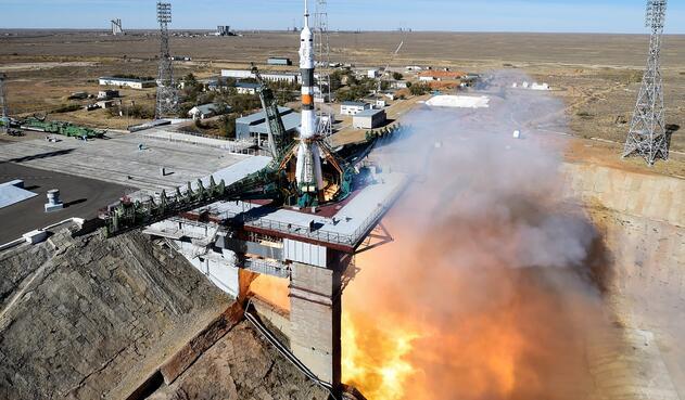 cohete ruso Soyuz