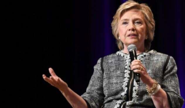 Hillary Clinton excandidata presidencial en Estados Unidos