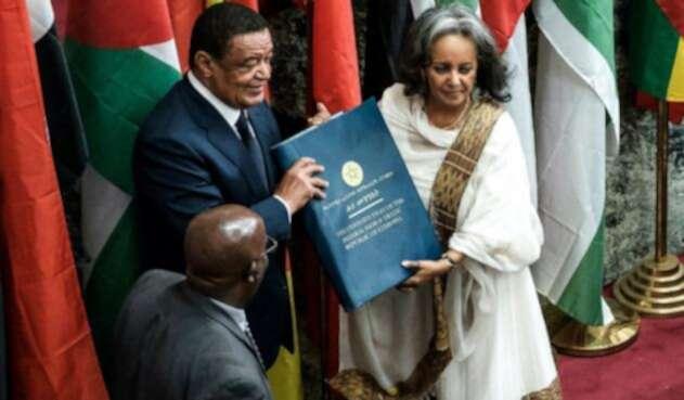Sahle work Zewde presidenta de Etiopía
