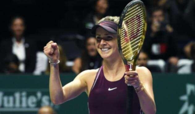 Elina Svitolina clasificó a semifinales del Masters de la WTA