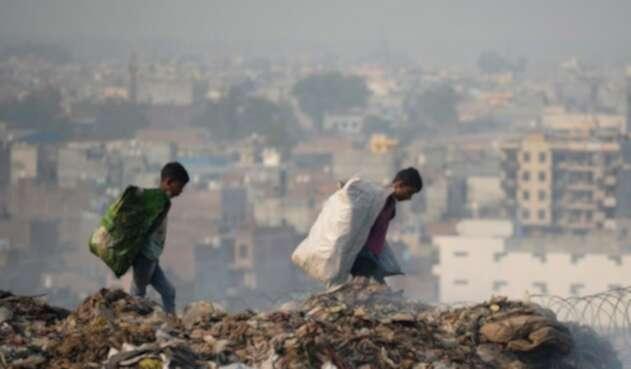 Contaminación niños