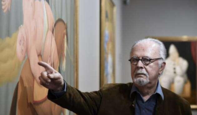 Fernando Botero, artista colombiano