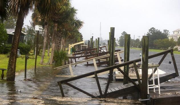Huracán Michael golpea Florida