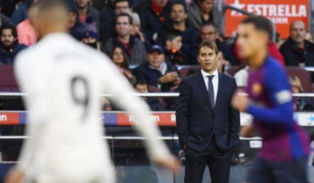 Julen Lopetegui asegura que tiene fuerza para seguir en el Real Madrid, a pesar de la goleada ante Barcelona