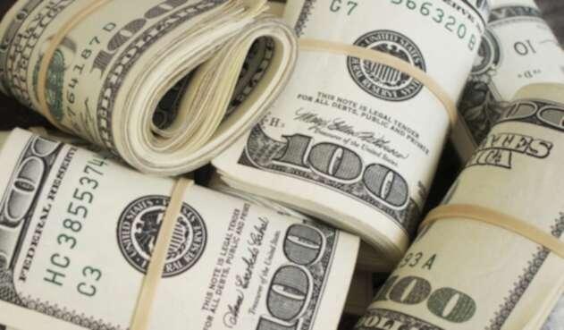 Rollos de dólares