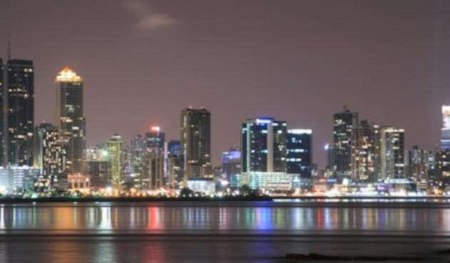 Ciudad de Panamá de noche