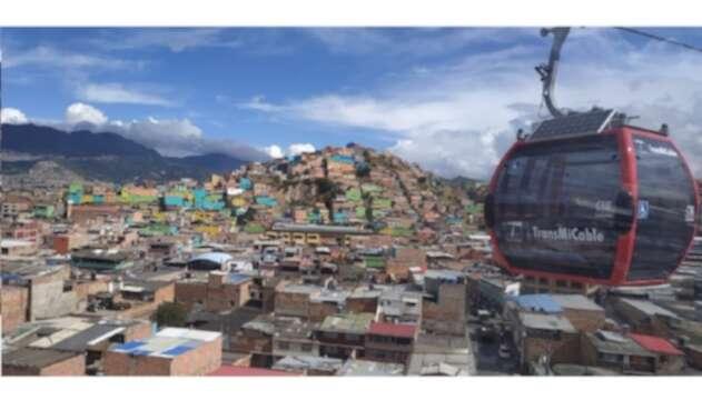 Transmicable de Ciudad Bolívar en funcionamiento
