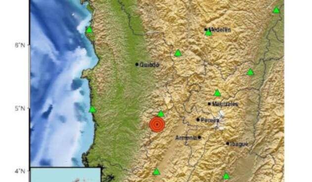 El epicentro fue el departamento del Chocó