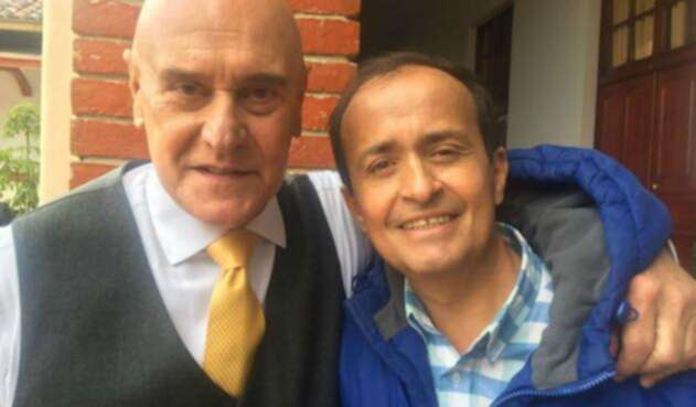 Actores Bayardo Ardila y Jorge Cao