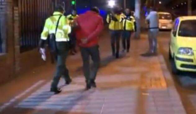 Agresor sexual de niña en Transmilenio fue capturado por la Policía Imágenes tomadas de Noticias RCN