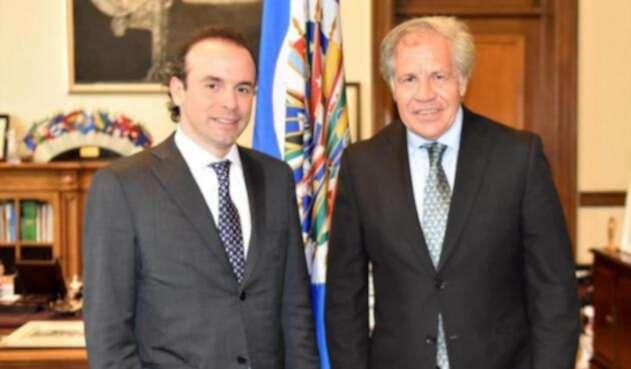 Exdirector de reintegración, Alejandro Eder  le propuso al Secretario General de la OEA, Luis Almagro