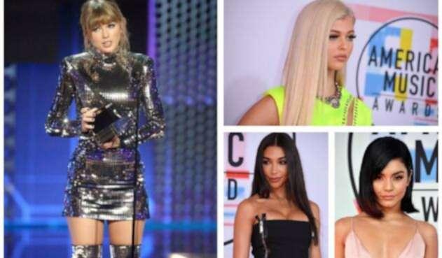 Las bellas de los American Music Awards