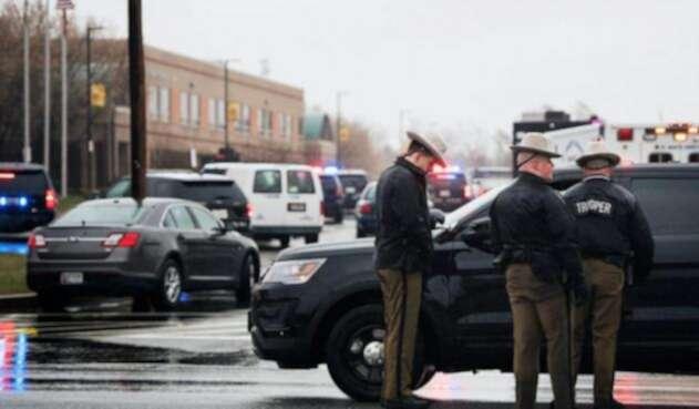 Policías Carolina del Sur.