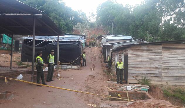 Barrancabermeja, en Santander, luego del deslizamiento de tierra