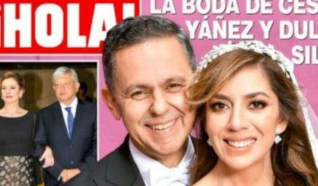 López Obrador criticado por asistir a boda