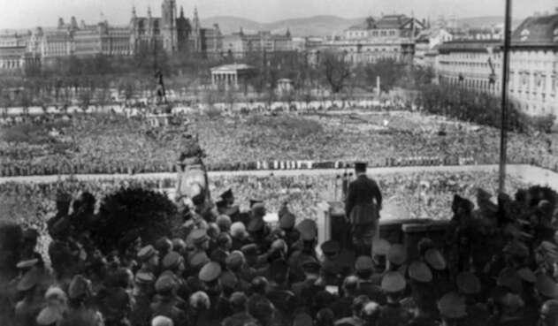 Hitler en Viena.