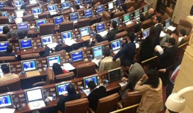 Plenaria de la Cámara de Representantes, iniciativa de moción de censura