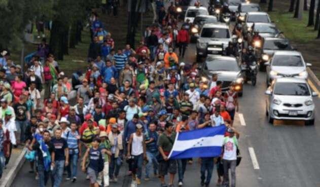 Caravana de hondureños a Estados Unidos