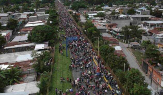 Caravana de hondureños