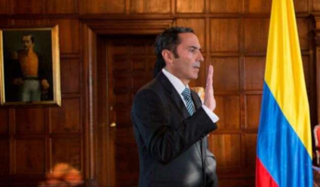 Carlos Manuel Pulido, embajador de Colombia en Guatemala