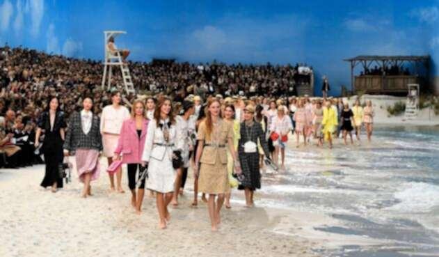Así fue el desfile de Chanel en la Semana de la Moda de París