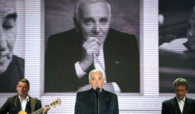 Murió Charles Aznavour