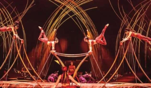 'Amaluna', espectáculo del Circo del Sol