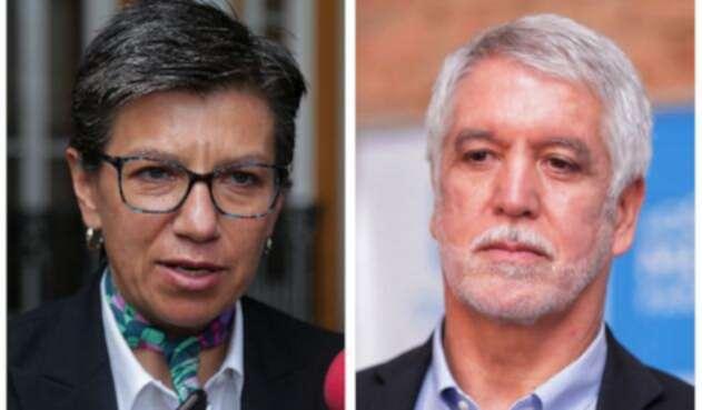 Claudia López y Enrique Peñalosa, ahora enfrentados por proyecto para alargar periodo de alcaldes.