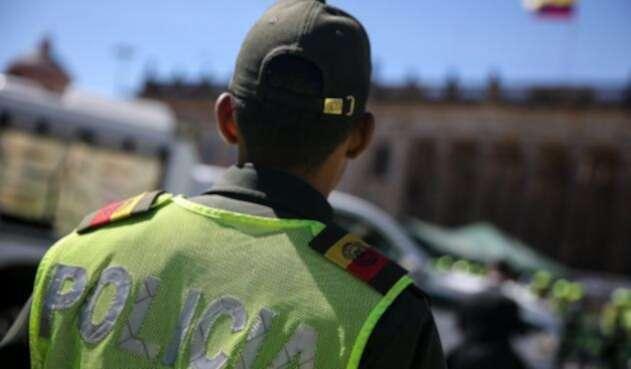 Oficial de policía en formación