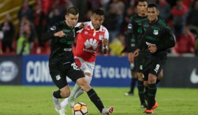 Santa Fe vs Deportivo Cali en la Copa Sudamericana