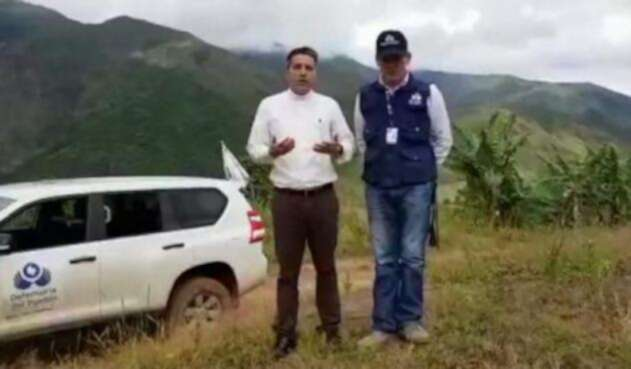 Comisión Humanitaria busca al niño Cristo José Contreras en el Catatumbo