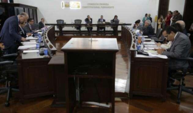 Comisión Primera del Senado