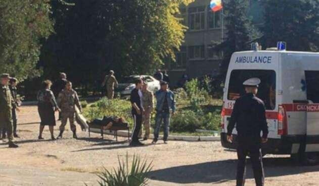 Explosión Crimea, Ucrania