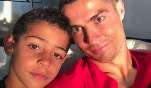 Cristiano y su hijo