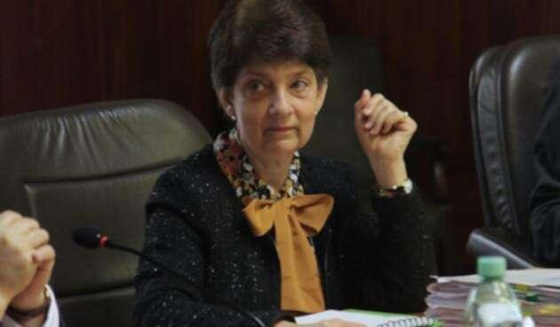 La magistrada Cristina Pardo Schlesinger