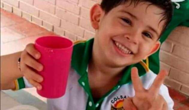 Cristo José Contreras, hijo de Edwin Contreras, alcalde de El Carmen, en Norte de Santander