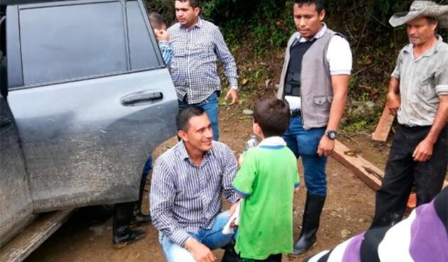 Cristo José Contreras, en libertad