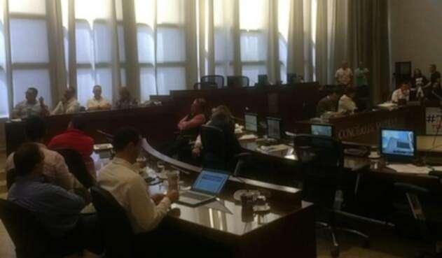 Debate Concejo de Medellín EPM