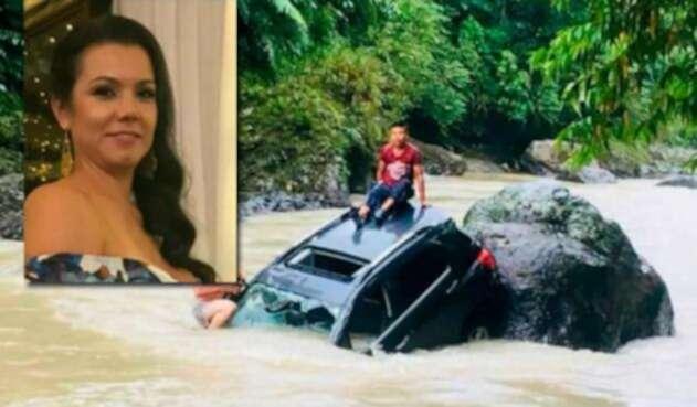 En días anteriores, el carro fue encontrado en el río Atrato, jurisdicción del Chocó.